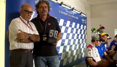 Homenaje a Marco Simoncelli: se retira su número 58