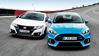 Honda Civic Type R/Ford Focus RS