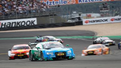 DTM 2016, Nürburgring: Mortara sube a lo más alto del podio