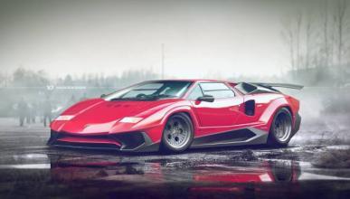 Así sería el Lamborghini Countach en 2016