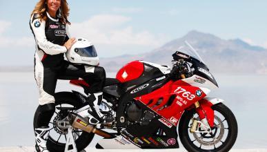503 km/h para la mujer más rápida de la historia en moto