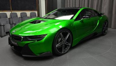 BMW i8 verde AC Schnitzer
