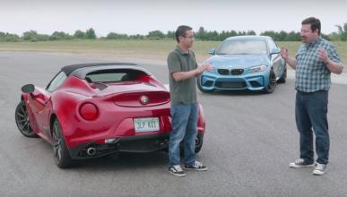 Alfa Romeo 4C Spider vs BMW M2: ¿pureza o confort?