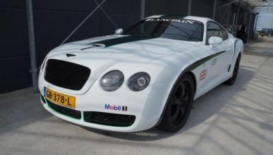 Crean un Bentley Continental GT3 R a partir de un Supra