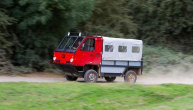 Un camión que se monta y desmonta 'a lo Ikea'