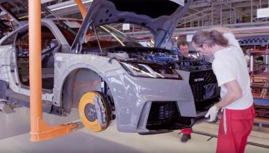 Así se fabrica el Audi TTRS en Hungría. ¡Perfeccionismo!