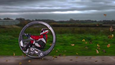 Récord mundial: ¡a 100 km/h en un monociclo!