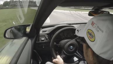 Vídeo: Bill Auberlen, con el BMW M4 GTS en Virginia Raceway