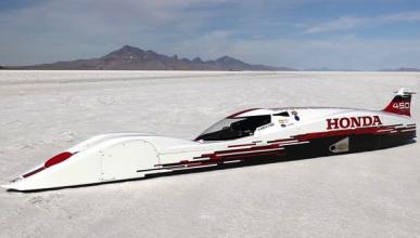 Honda S Dream Streamliner: ¡A más de 420 km/h con 660 cc!