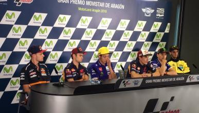 Rueda de Prensa MotoGP Aragón 2016: esto fue lo que se dijo