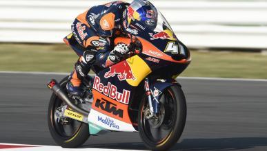 Libres Moto3 Aragón 2016: Binder no siente la presión