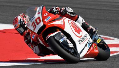 Libres Moto2 Aragón 2016: Nakagami arranca dominando