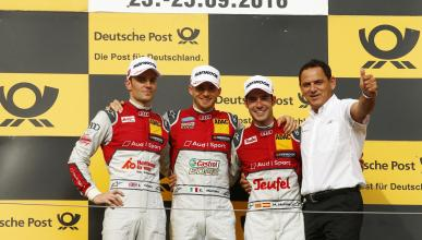 DTM 2016, Hungría 1: Miguel Molina sube al podio