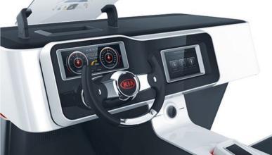 Kia imagina el futuro del automovilismo, ¡sin manos!