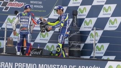 """Rossi: """"Podría haber hecho como Iannone en Barcelona"""""""