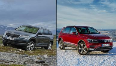 ¿Cuál es mejor, Skoda Kodiaq o Volkswagen Tiguan 2016?