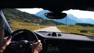 Vídeo: un Porsche 911 GT3 RS en el Paso de San Bernardino
