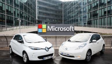Renault-Nissan y Microsoft, juntos para el coche conectado