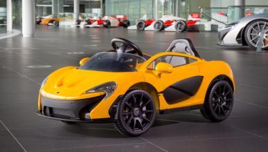 McLaren P1 roadster eléctrico de juguete