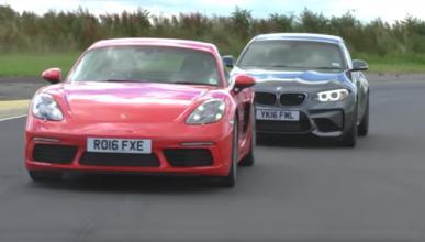 BMW M2 vs Porsche 718 Cayman S, batalla por la diversión