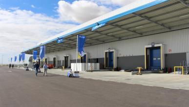 centro logístico de Michelin en Illescas