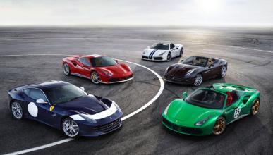 70 aniversario de Ferrari en el Salón de París 2016