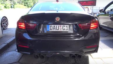 Así ruge el BMW M4 Manhart: ¡otro nivel!