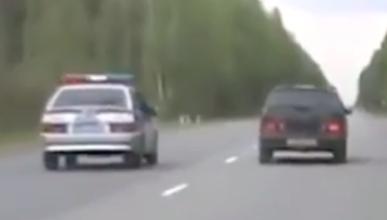 Esta persecución policial en Rusia acaba mal... muy mal