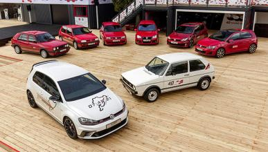 VW organiza la mayor concentración de Golf GTI de España