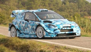Video Primeras Imagenes Del Nuevo Ford Fiesta Rs Wrc 2017