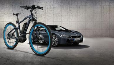 Esta bicicleta BMW está inspirada en el i8