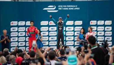 Fórmula E 2016-2017, Hong Kong: Buemi gana una carrera loca