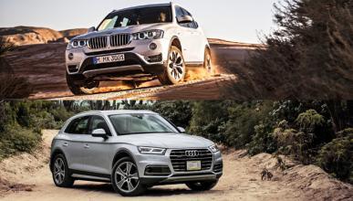 ¿Cuál es mejor, Audi Q5 2017 o BMW X3?