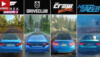 Forza Horizon 3 vs DriveClub vs The Crew: cuál es el mejor