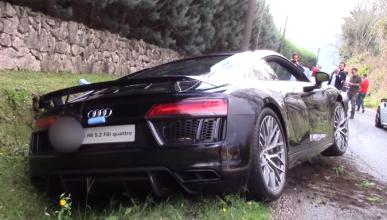 Vídeo: así acabó un Audi R8 V10 Plus en un Cars and Coffee
