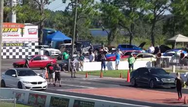 Cadillac ATS-V contra BMW M3: ¿cuál acelera más?