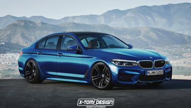 Así podría ser el BMW M5 2017