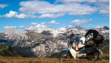 De Seúl a Nürburgring en scooter para cumplir su sueño