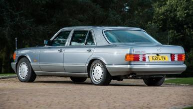 subasta Mercedes Clase S blindado Husein I de Jordania