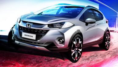 Honda WR-V: primer boceto del SUV más pequeño de Honda