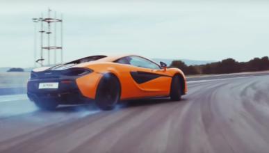 Vídeo: las virtudes del McLaren 570S en circuito