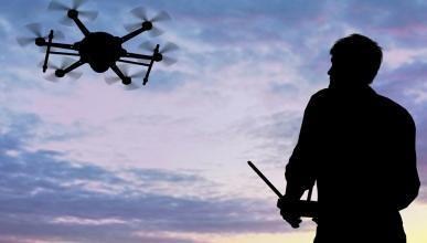 Reino Unido está chocando drones contra aviones