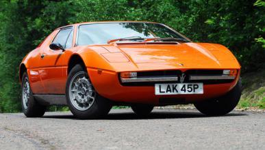 Maserati Merak, un estiloso clásico casi olvidado