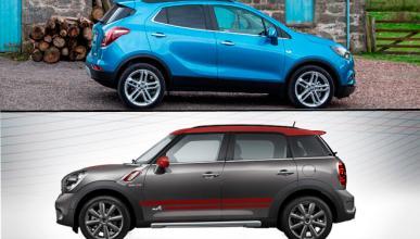 ¿Cuál es mejor, Opel Mokka X o Mini Countryman?