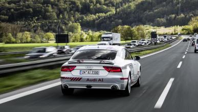 Las nuevas tecnologías de conducción pilotada de Audi