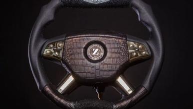 Volante Dartz Prombon Black Alligator
