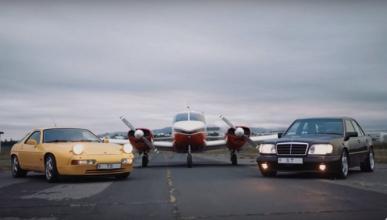 Aquí tienes dos de los mejores V8 de los años 80