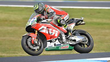 Cal Crutchlow demuestra el poderío de Honda en MotoGP