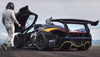 Vídeo: a tope en circuito con un McLaren P1 GTR de 1.000 CV