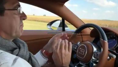 Vídeo: ¡qué fácil se conduce un Bugatti Chiron de 1.500 CV!
